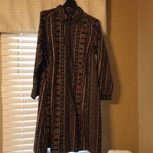 NWT Roaman's 18W Shirt Dress